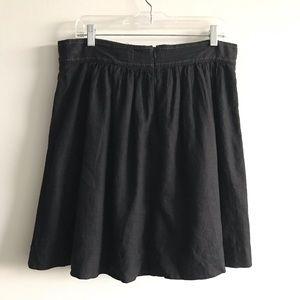 Anthropologie Skirts - Anthropologie - Cidra- Linen lunes mini skirt